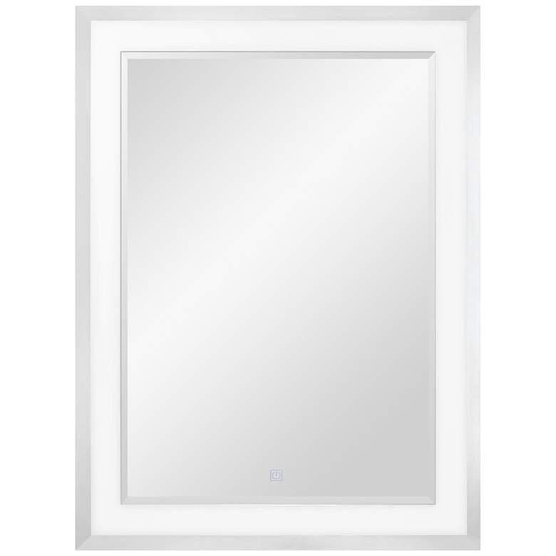 "George Kovacs Anzio 20 1/4"" x 32"" LED Wall Mirror"