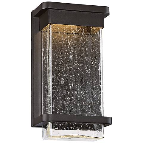 "Modern Forms Vitrine 12"" High Bronze LED Outdoor Wall Light"