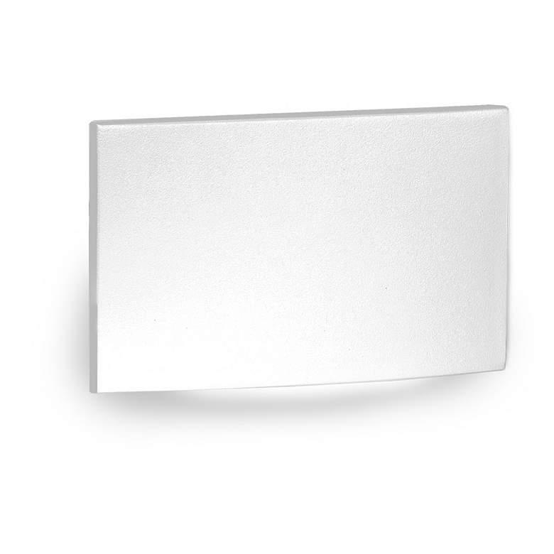 "WAC 5"" Wide White Fluid Horizontal LED Step Light"