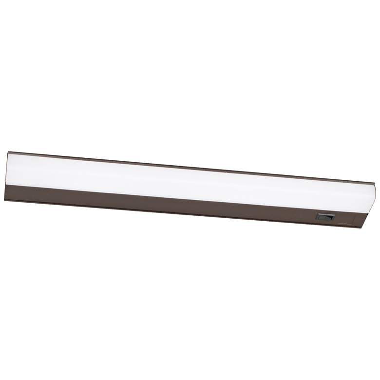 "Led T5L 24"" Wide Oil-Rubbed Bronze LED Under Cabinet Light"