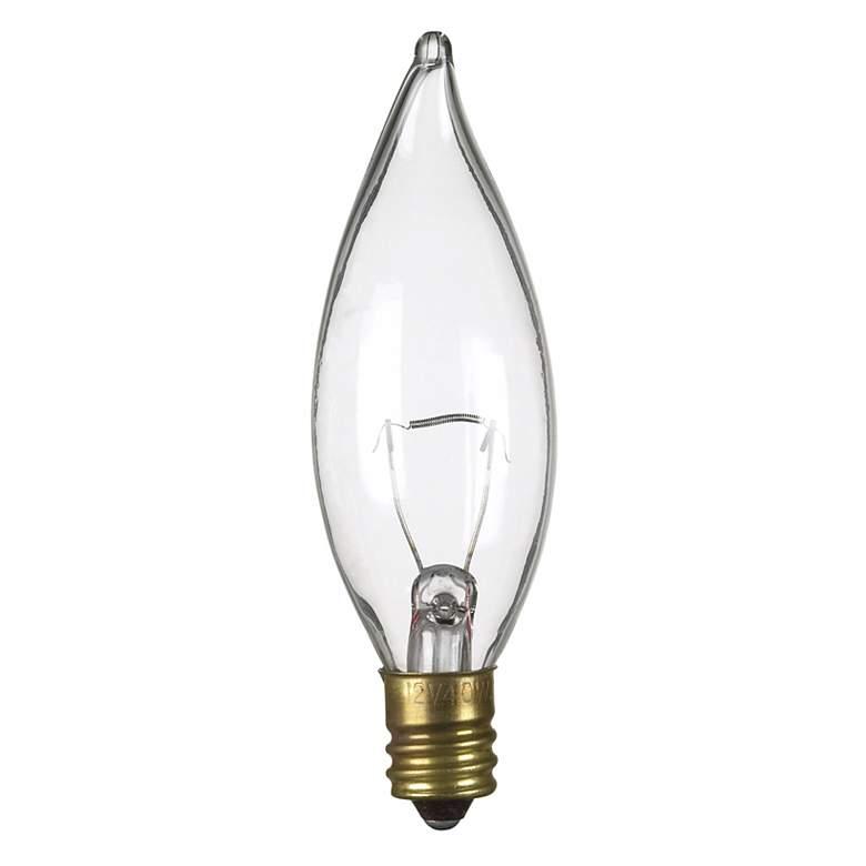 40 Watt Candelabra 12 Volt Light Bulb