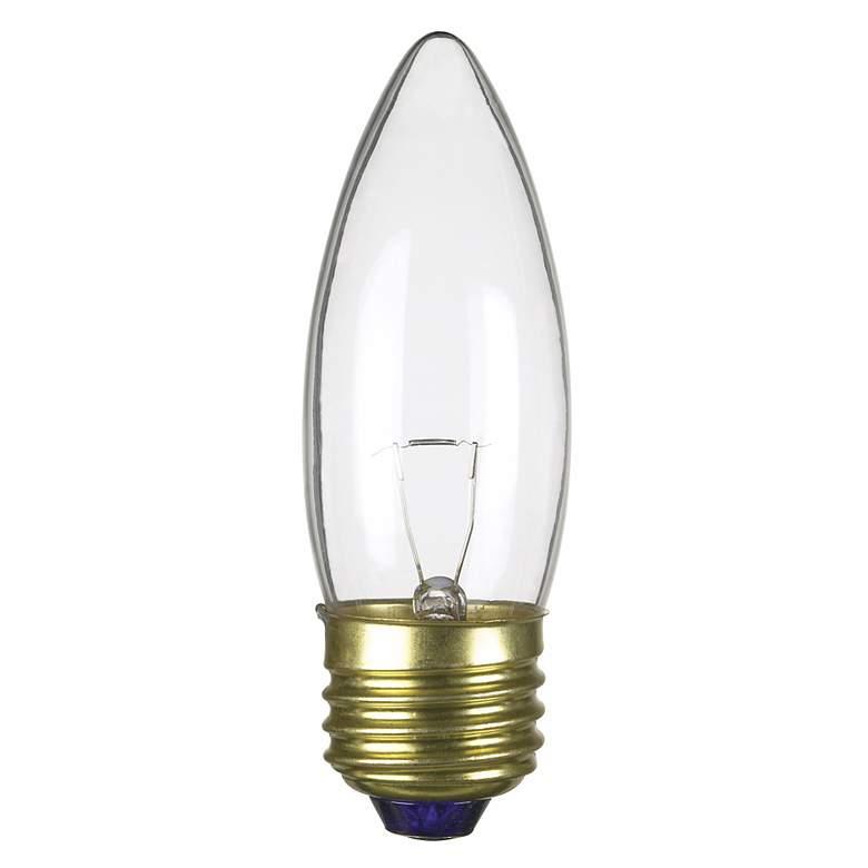 25-Watt 12-Volt Medium Base Torpedo shape Light Bulb