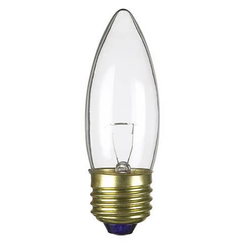 25 Watt 12 Volt Medium Base Torpedo Shape Light Bulb 46409 Lamps Plus