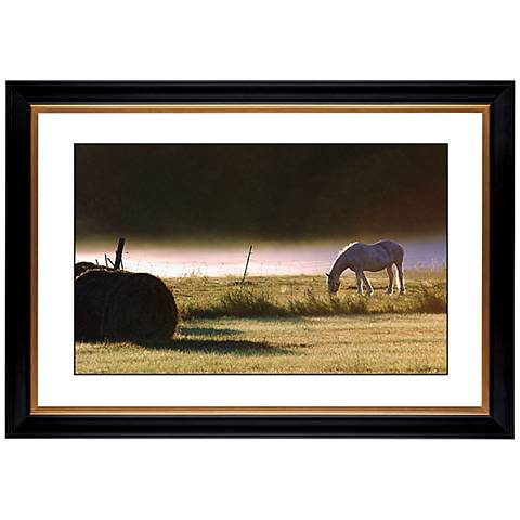 "Pasture Giclee 41 3/8"" Wide Wall Art"