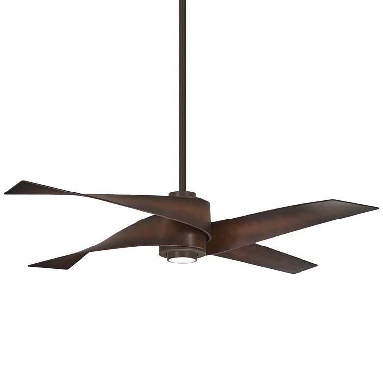 "64"" Minka Aire Artemis IV Oil Rubbed Bronze DC Ceiling Fan"