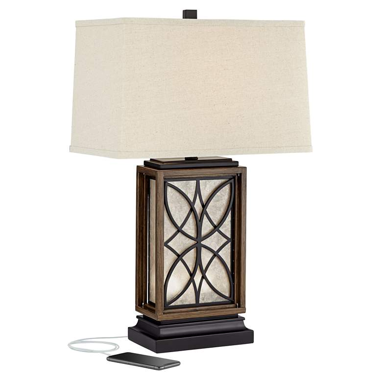 Arthur Night Light Table Lamp with USB Port