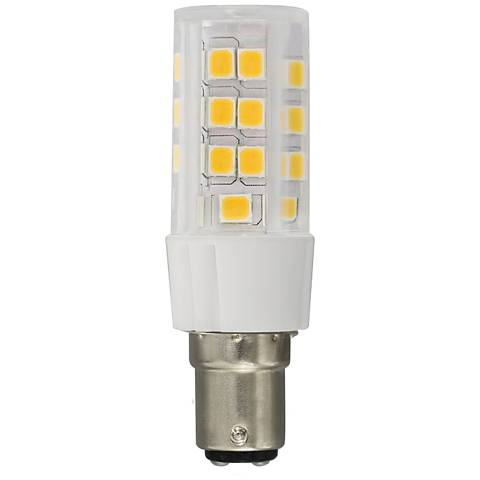 50 Watt Equivalent 3.5 Watt LED Dimmable Double Bayonet Bulb