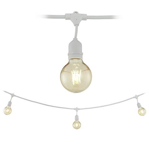 Tivoli Commercial 24-Light White LED String Light Set