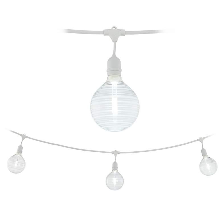 Adapt 24-Light Angela Ring Pattern White String Light Set