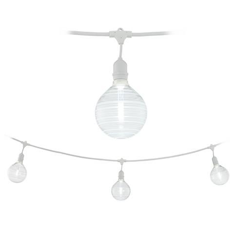 Adapt 24-Light Ring Pattern White String Light Set