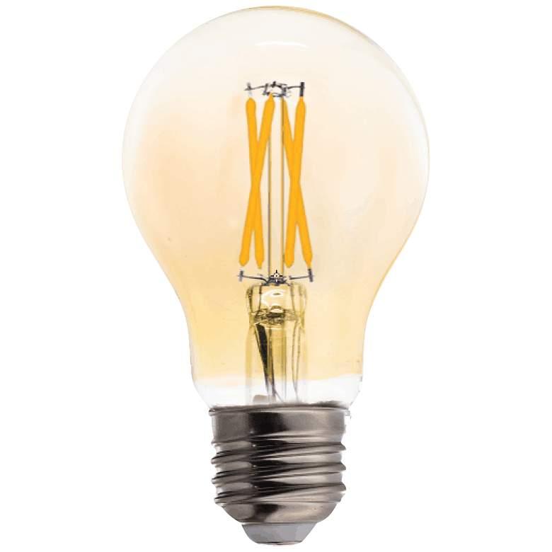 40W Equivalent Amber 4W LED Filament A19 Standard