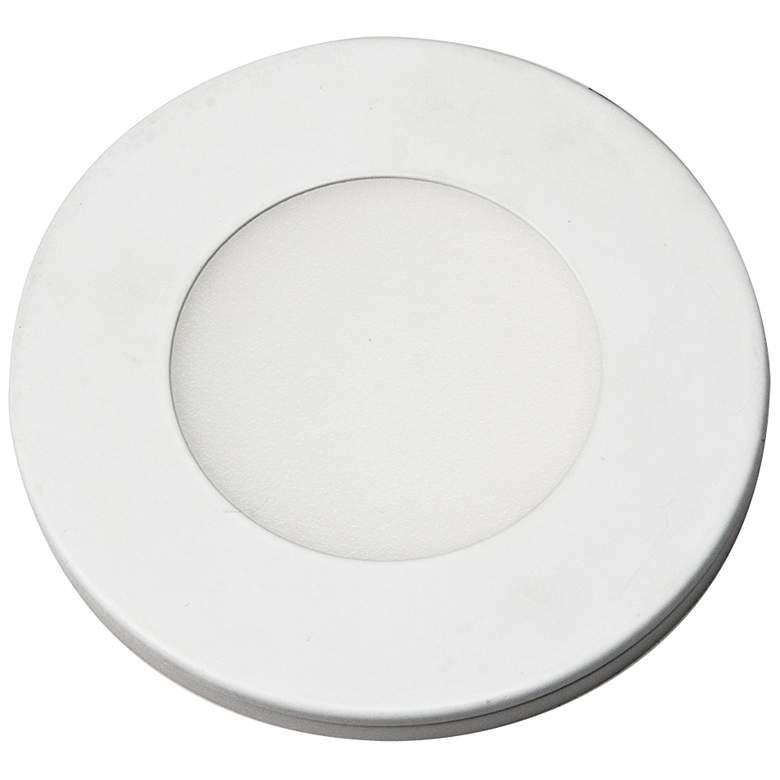 """Slim Puck 12VDC 3"""" Wide White 3000K LED LIght"""