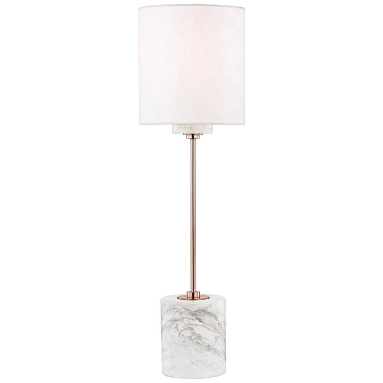 Mitzi Fiona Polished Copper Accent Table Lamp