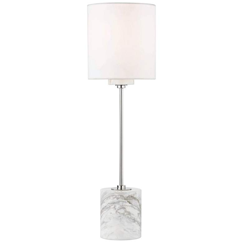 Mitzi Fiona Polished Nickel Accent Table Lamp