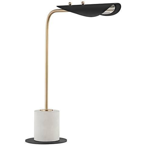 Mitzi Layla Aged Brass LED Accent Table Lamp