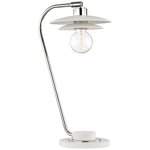 Mitzi Milla Polished Nickel Accent Table Lamp
