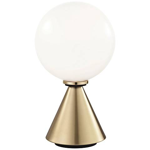 """Mitzi Piper Aged Brass 13 1/4"""" High LED Accent Table Lamp"""