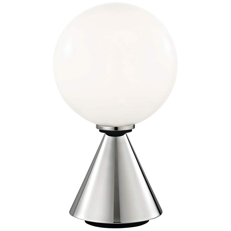 """Mitzi Piper Polished Nickel 13 1/4""""H LED Accent Table Lamp"""
