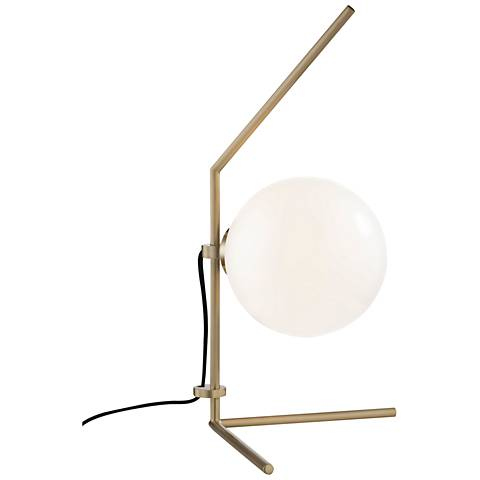 """Mitzi Tori Aged Brass 19 3/4"""" High LED Accent Table Lamp"""
