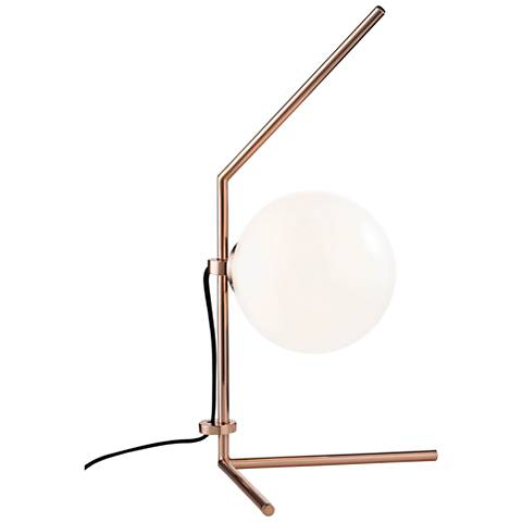 "Mitzi Tori Polished Copper 19 3/4""H LED Accent Table Lamp"