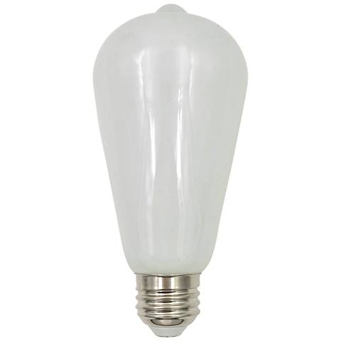 60W Equivalent Tesler Milky 7W LED Dimmable Standard Bulb