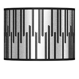Segments Silver Metallic I Lamp Shade 13 5x13 5x10 Spider