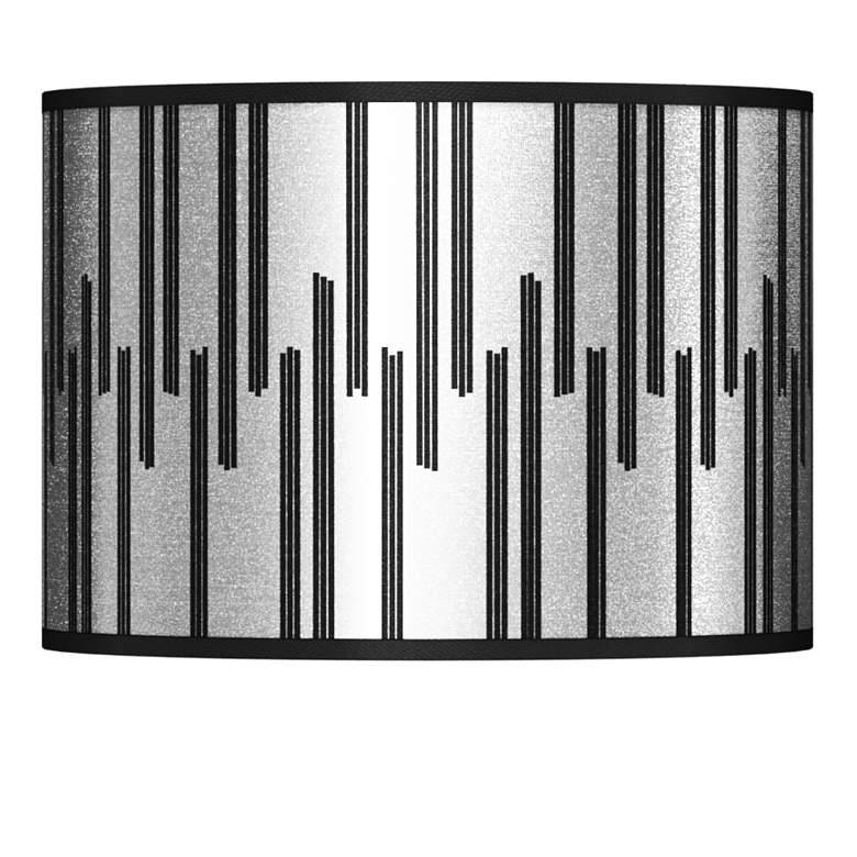 Segments Silver Metallic I Lamp Shade 13.5x13.5x10 (Spider)