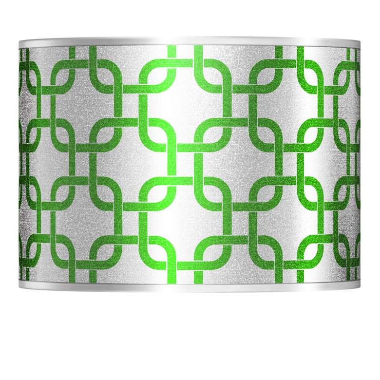 Lattice Silver Metallic Ii Lamp Shade 13 5x13 5x10 Spider 46g28 Lamps Plus
