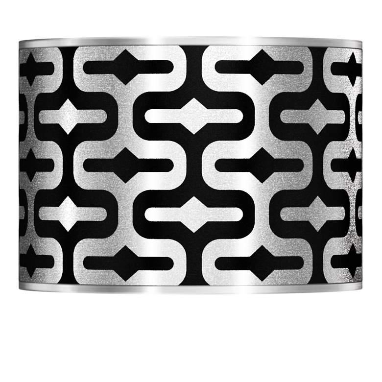 Reflection Silver Metallic Lamp Shade 13.5x13.5x10 (Spider)