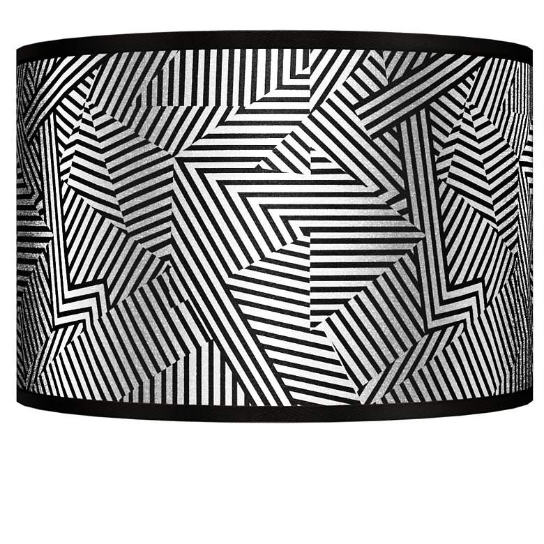 Labyrinth Silver Metallic Giclee Shade 12x12x8.5 (Spider)
