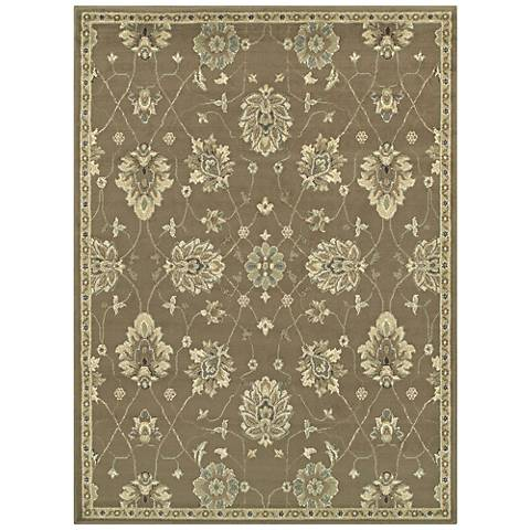 Brentwood 1330E Brown and Beige Area Rug