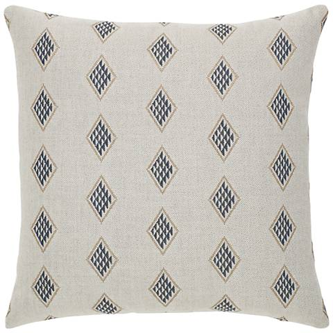 "Elaine Smith Reflection 20"" Square Indoor-Outdoor Pillow"