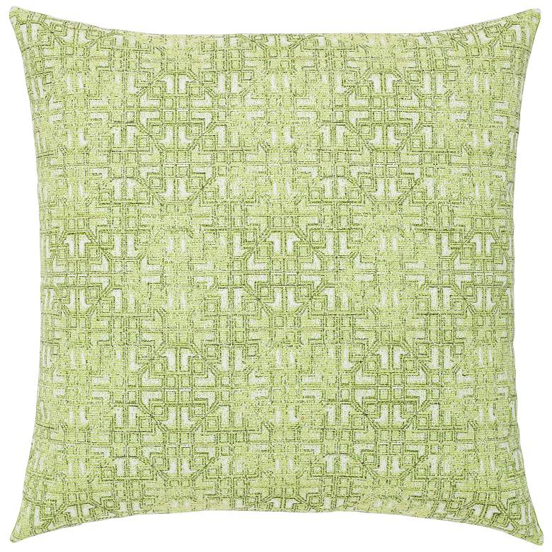 "Gate Greenery 20"" Square Indoor-Outdoor Decorative Pillow"