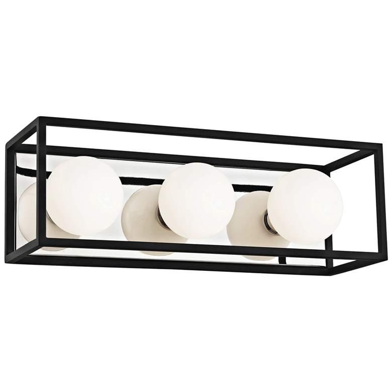 "Mitzi Aira 15"" Wide Polished Nickel 3-Light LED Bath Light"