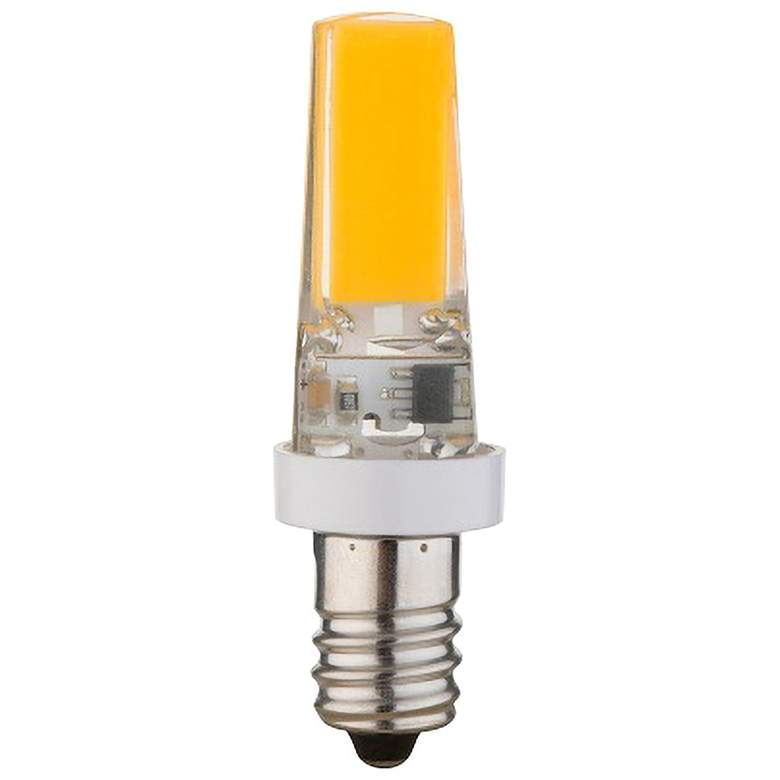 50 Watt Replacement Clear 5 Watt LED E12 Minican Bulb