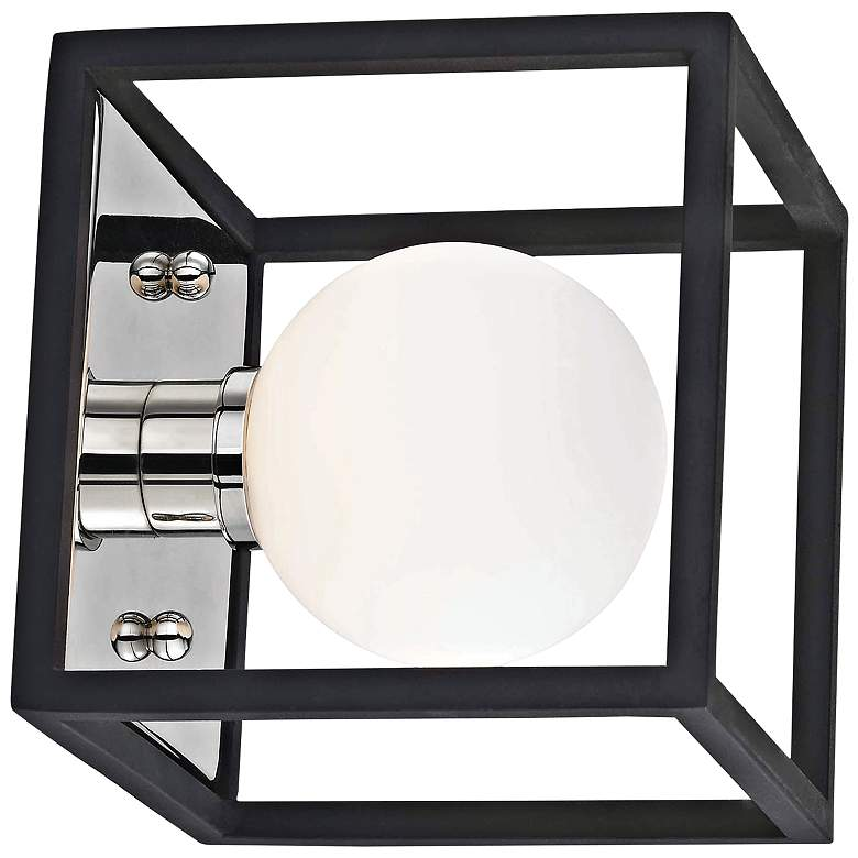 """Mitzi Aira 5"""" High Polished Nickel LED Wall Sconce"""
