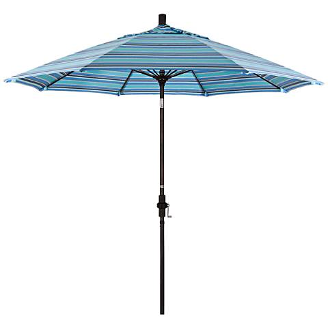 Sunmaster 9-Foot Dolce Oasis Sunbrella Market Umbrella