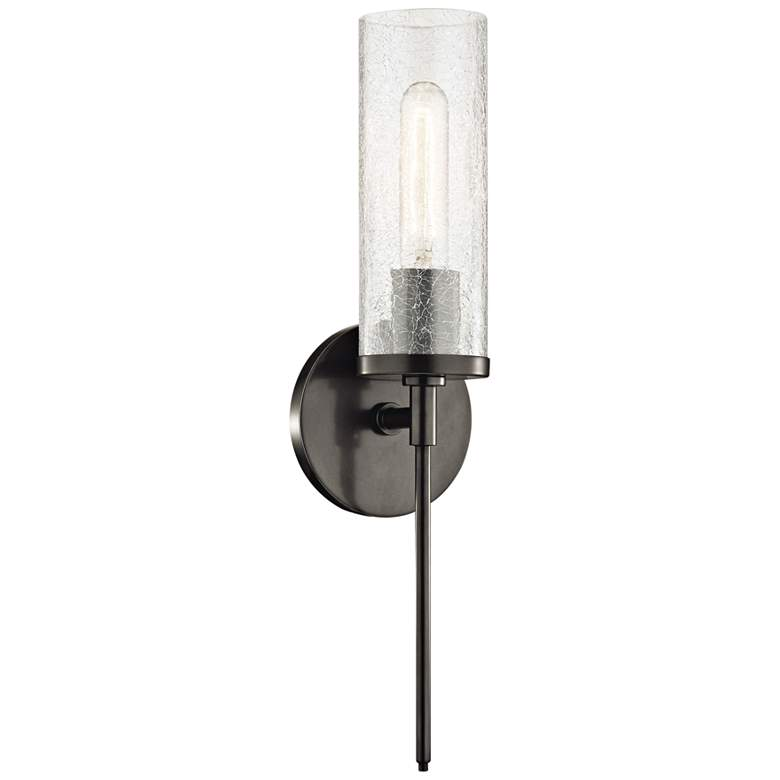 """Mitzi Olivia 17 1/2"""" High Old Bronze Wall Sconce"""