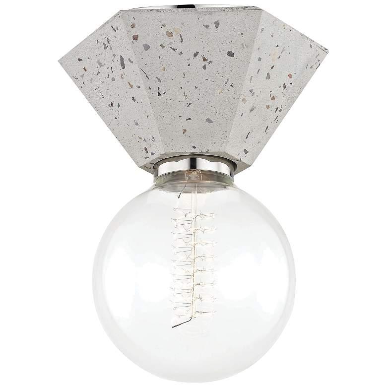 "Mitzi Lynn 6 3/4"" Wide Terrazzo Ceiling Light"