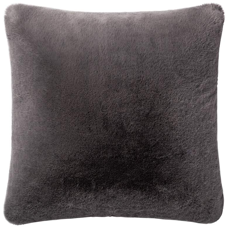 "Loloi Charcoal 22"" Square Throw Pillow"
