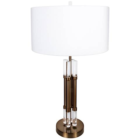 Van Teal Oakland Gold Table Lamp