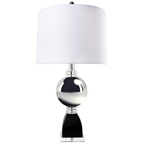 Van Teal Silver Sand Polished Chrome Table Lamp