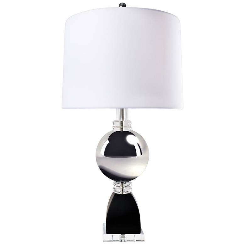 Van Teal Silver Sand Polished Chrome Table Lamp