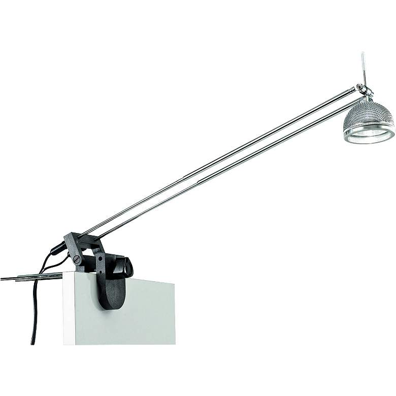 Clamp-On 50 Watt Halogen Telescopic Plug-in Display Light
