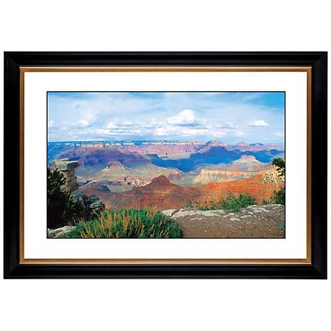 """Desert Vista Giclee 41 3/8"""" Wide Wall Art"""