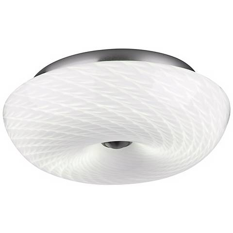 "Philips Inhale Collection 13"" Marta White Ceiling Light"