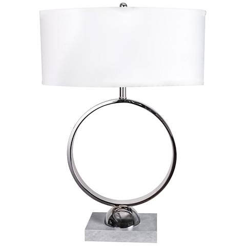 Van Teal Streamline Polished Chrome Table Lamp