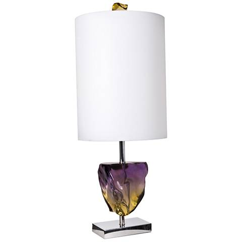 Van Teal Ametrine Chrome Table Lamp