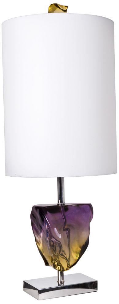Van Teal Ametrine Chrome Table Lamp