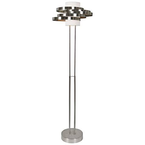 Van Teal Circus Brushed Nickel Floor Lamp